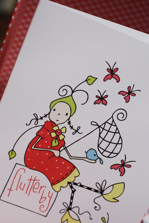 Flutterby girl 2