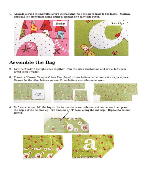 It's Personal - Pretty by Hand instructions