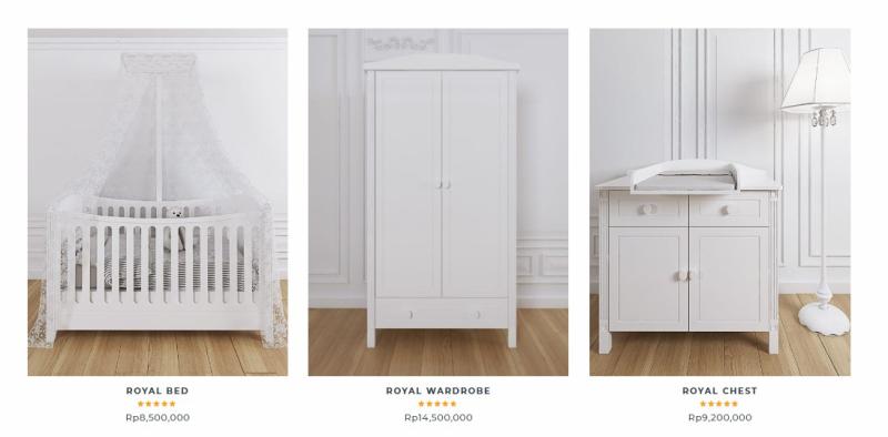 Pilihan Produk Furniture Perlengakapan Bayi - Royal