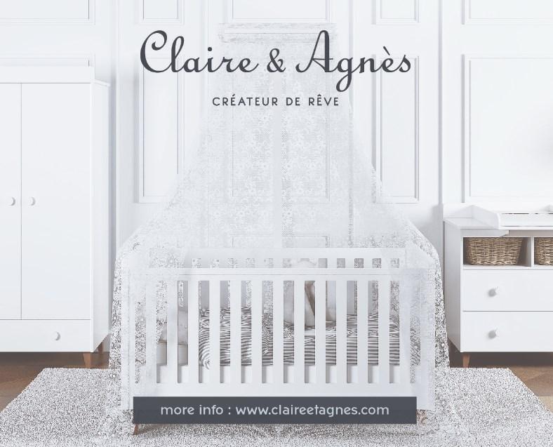 Tempat Tidur Box Bayi Desain Ala Eropa yang Didominasi Warna Putih