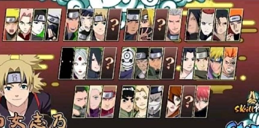Download Naruto Senki Mod Nsun5 Apk Full Character Cinderberry Stitches