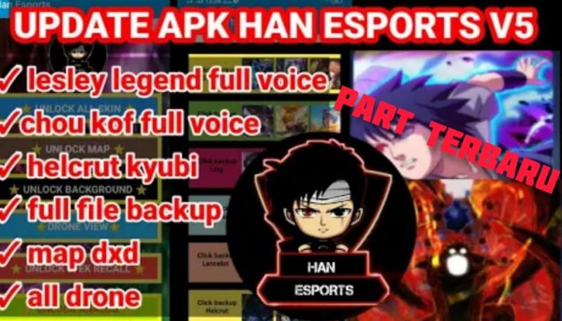 Download Han Esports Apk V5 V4 Injector ML