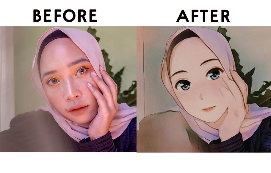 Download Cara Edit Foto Anime Pakai Apk Anime Face Dari China Yang Lagi Viral Cinderberry Stitches