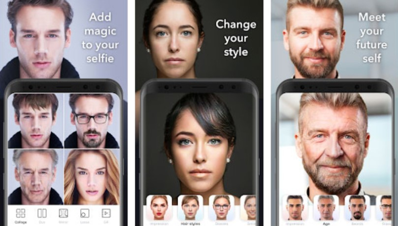 Fitur-Fitur Apliksi Faceapp Pro Mod Apk Terbaru 2021